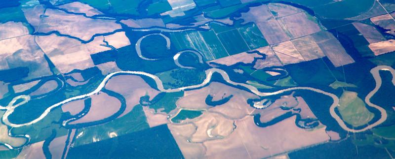 This bayou exhibits a rare double horseshoe.