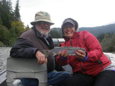 2013 Fly Fishing with George on The Rogue