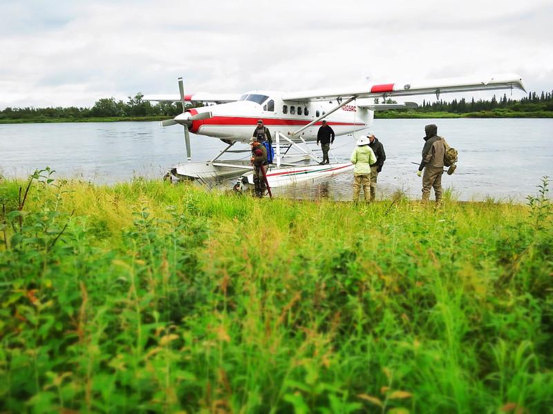 De Havilland Otter on the Nushagak River.