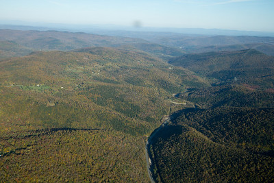 Valleys of central VT - falls colors appearing.