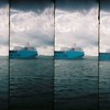 Big ships at the Hoek van Holland.