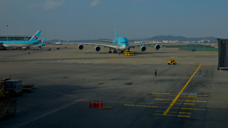 ICN airport, on my way to Australia...