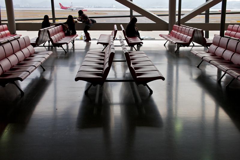 KIX airport, on my way to Australia...
