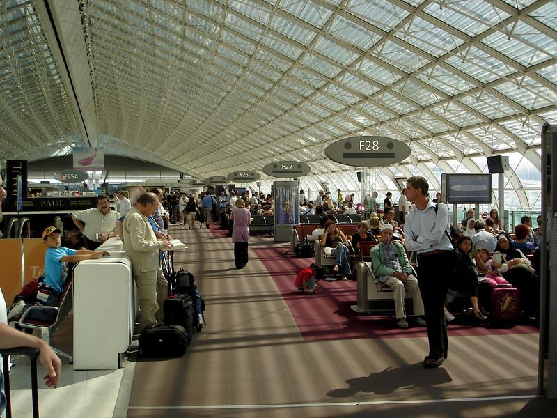 Paris CDG terminal F