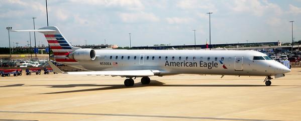 An American Eagle Bomardier