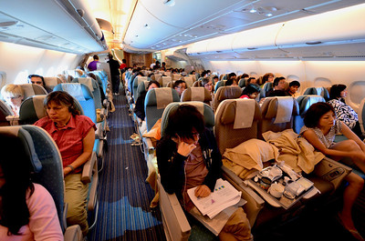 The upper deck economy (2/3/2).