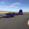 Our purple chariot awaits for the 20 minute flight home to Ramona. We will be back!