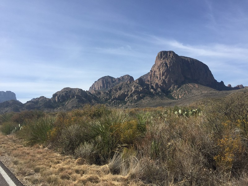 Heading up into the Chisos Mountains.