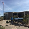 Back down from the Chisos mountains, we visited the Panther Junction visitor center.