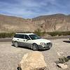 Our Subaru Outback got us around the park.