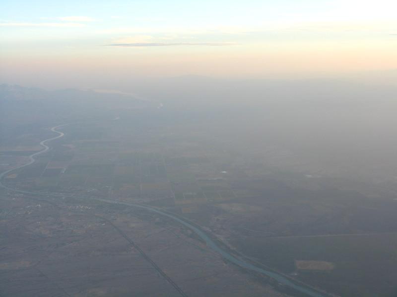 Colorado River crossing into Arizona.