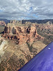 We flew around the Red Rocks and canyons of Sedona, AZ.