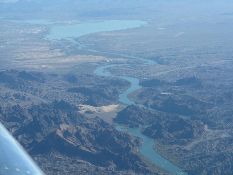 Topock Gorge on the Colorado River.