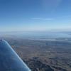 Salton Sea as we approach Thermal, CA.