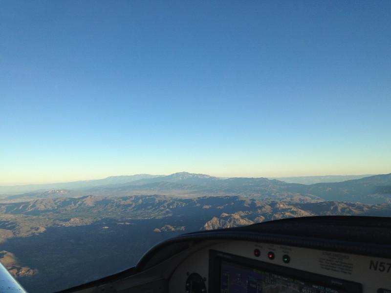 Mt. San Jacinto and behind it, Mt. San Gorgonio