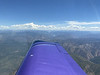 Half Dome off the wing tip.
