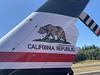 Bear Flag on the tail.