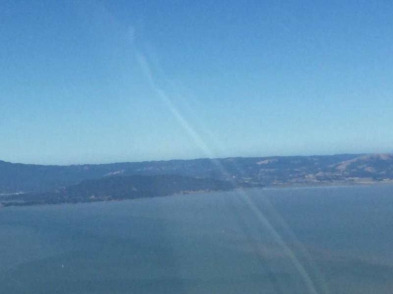 Looking towards Tiburon.