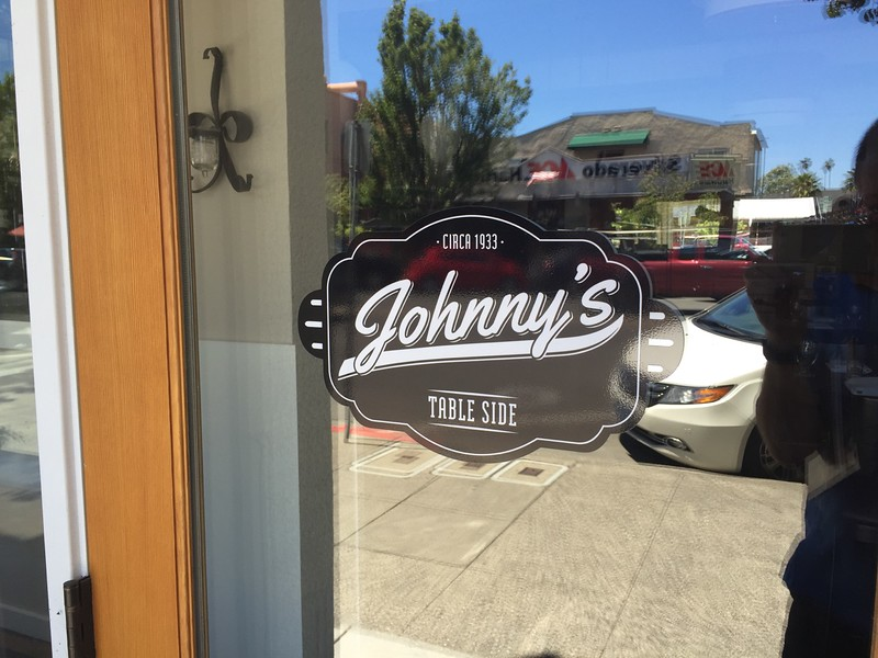 "Our dog ""Johnny"" has a restaurant?"