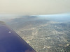 We turned away from the smoke when we hit Van Nuys.