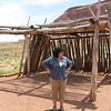 Navajo shade structure.