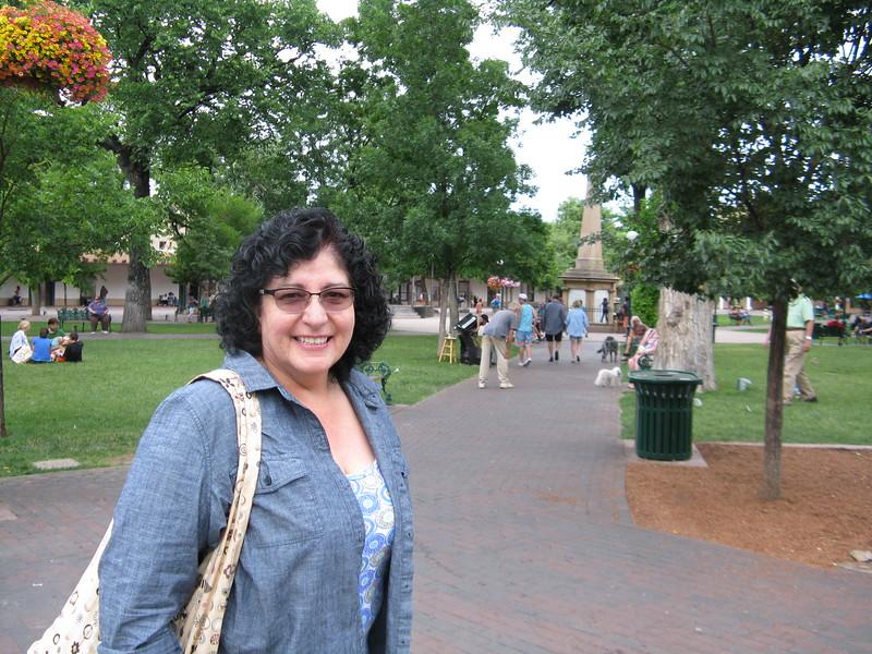 Christine at the Plaza.