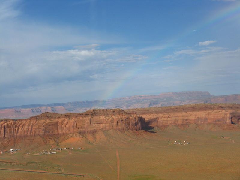 We even had a nice rainbow!