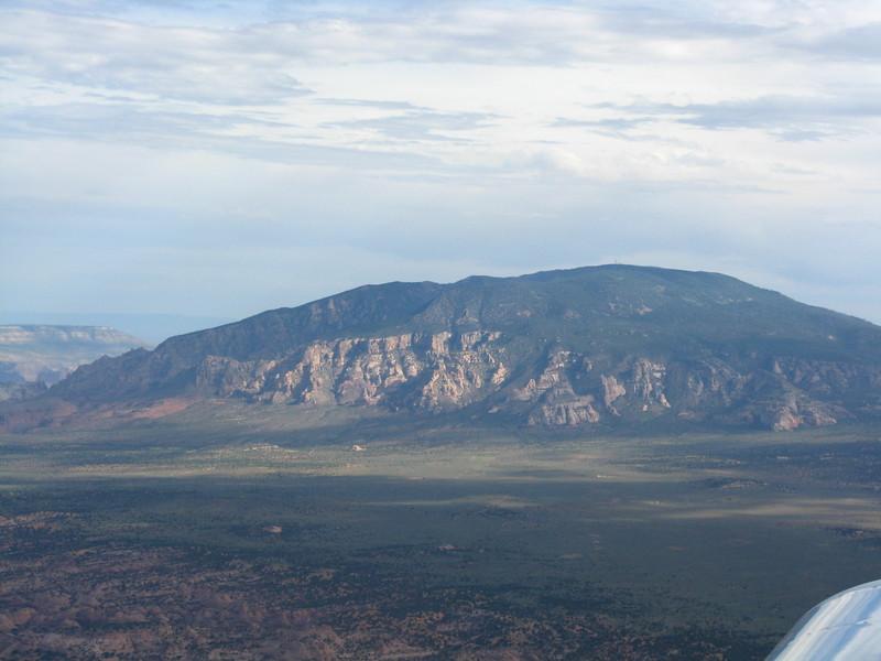 Navajo Mountain on the way to Page, AZ.