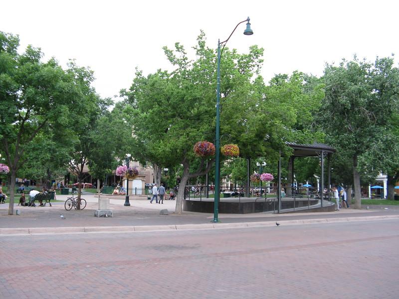 Plaza Bandstand.