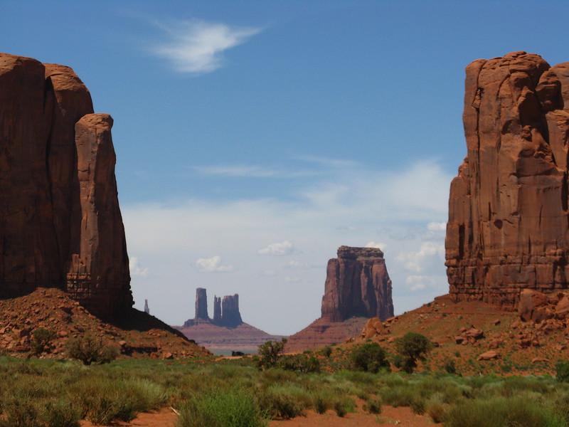 Beautiful iconic southwestern vistas.