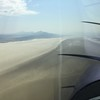 I took off from Caldwell and decided to head toward Black Rock City (Burning Man) which should be coming up soon. I descended down from the cooler temps at 10500' to 5000' and did some passes around the site.