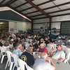 The EAA chapter had a new hangar for all of the meals and presentations.