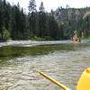 We hit the confluence where the other fork meets our fork of the river.