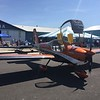 Van's even brought over the new RV-12is that we saw at Oshkosh.