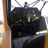 Not much on the panel. Big whiskey compass on the dash, airspeed, altitude, fuel, etc.