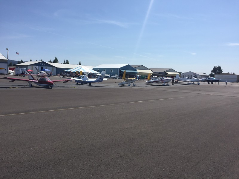 More planes came in on Saturday. They were expecting quite a few on Sunday and Monday for the Solar Eclipse.