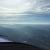 Sunday morning had French Toast breakfast at EAA, then took off for Idaho. More smoke in the Cascade range.