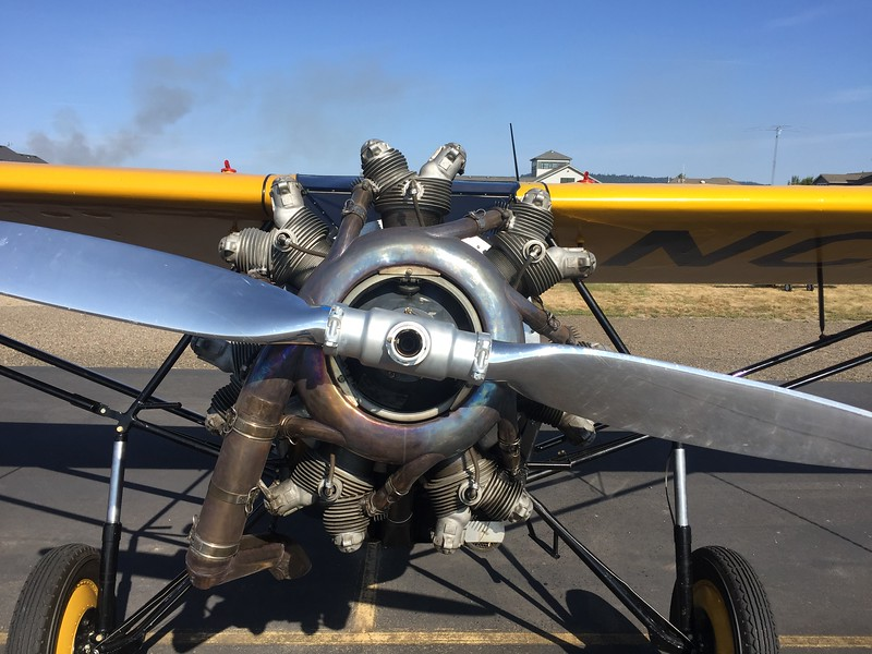 A head on shot of the Monocoach engine.