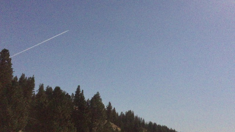 Only lasted 2 minutes, and then it got brighter again. A jet was flying overhead.