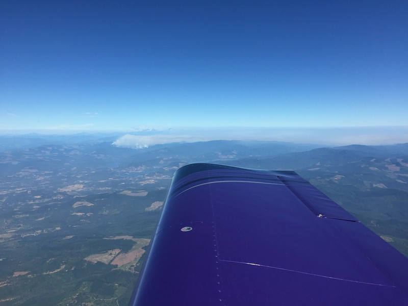 Another fire in the eastern mountains in Oregon.