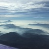 Mt Jefferson to the south. There was a TFR over the smoky areas for fire fighting activity.