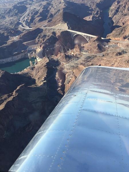 Coming around the Dam.