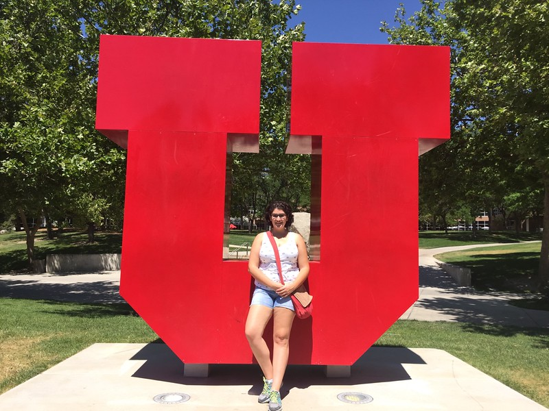 U's are everywhere at the Univ of Utah Utes.