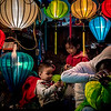 lantern maker and family