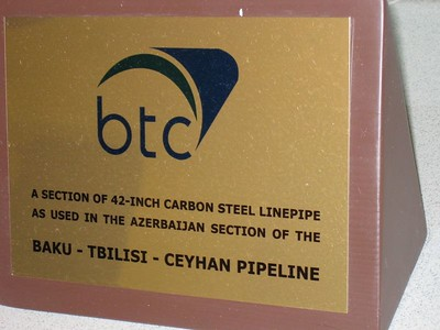 Following the BTC (Baku Tbilisi Ceyhan) Pipeline