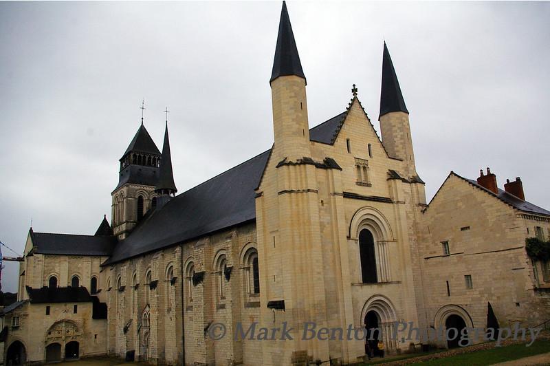 Fontevraud Abbey Entrance to Tomb Chapel
