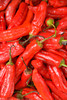 Chiles, fruit market near Mercado del Puerto, Montevideo, Uruguay. ©2007 Ellen Barone.