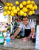 a friendly lemonade vendor, Capri, Isle of Capri, southern Italy