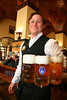 Waiter, Hofbrauhaus, Munich, Germany, Europe.