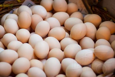 Fresh eggs. Hong Kong.